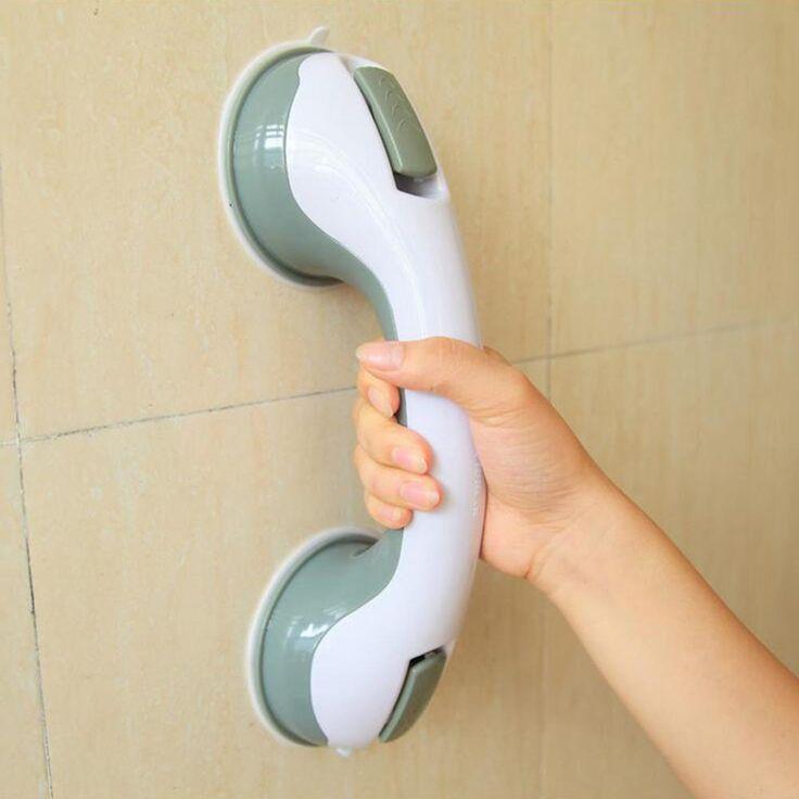 Adhesive safety bathroom handle shower grab bar grab