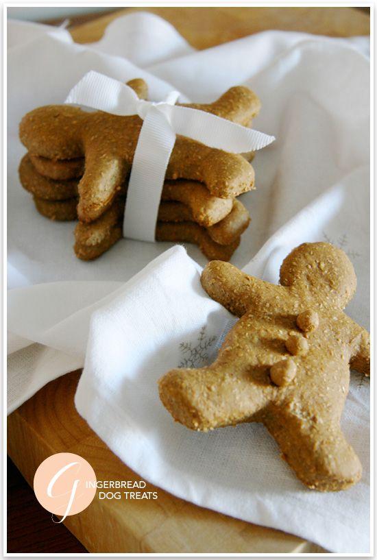 DIY: The Best Gingerbread Dog Treat Recipe