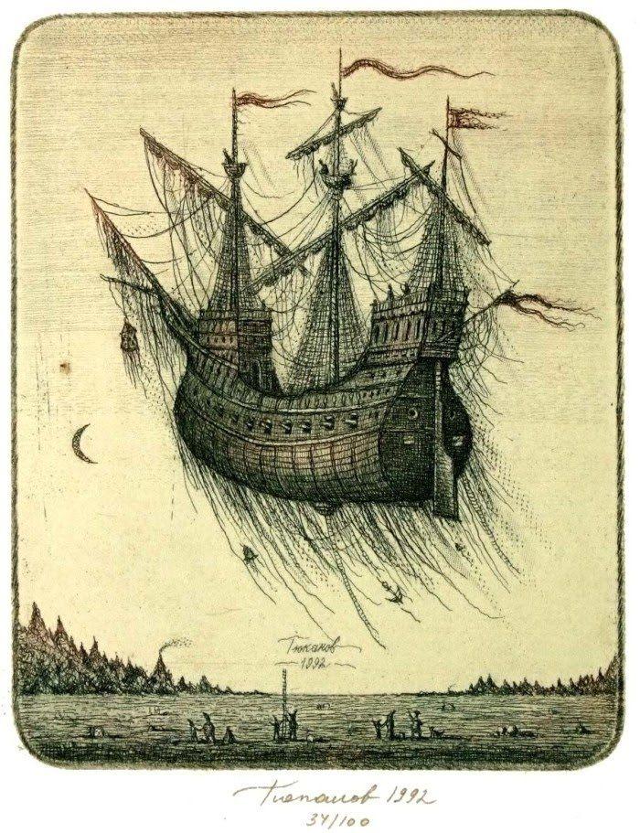 sergey_tyukanov_etching_fantasy_floatingship7