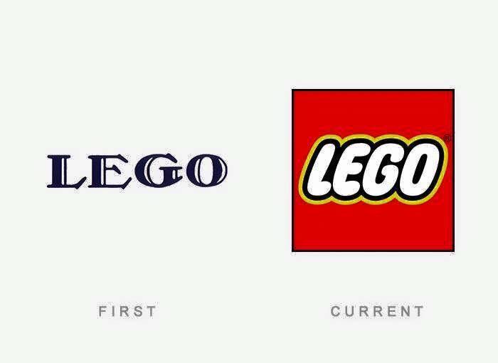 El primer y ultimo #logotipo de #Lego hasta la fecha.