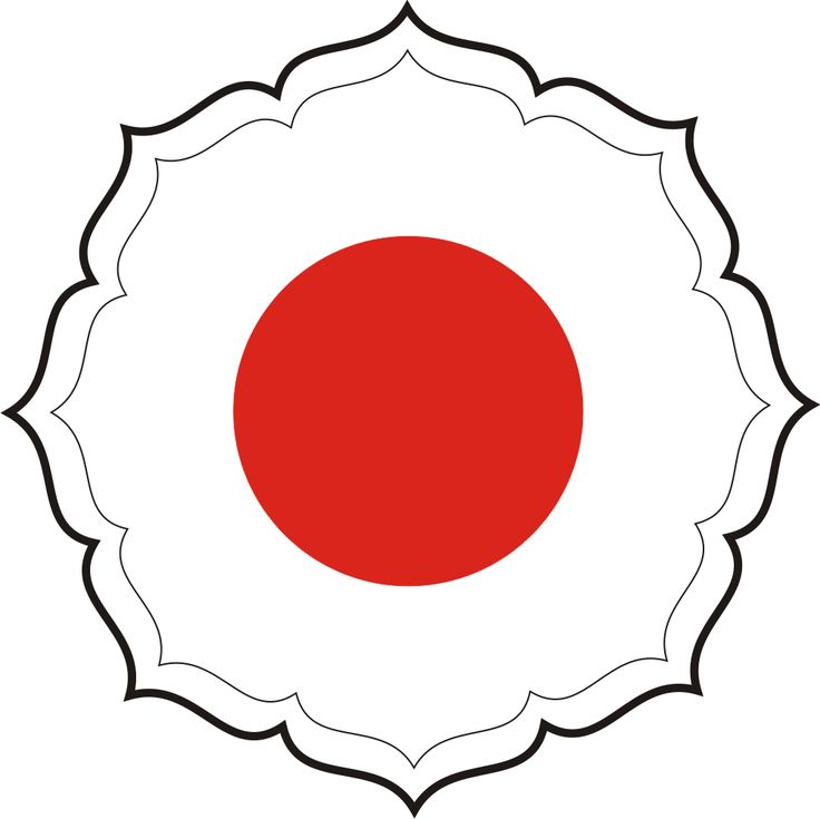 Judo's symbol - each point stands for the direction which you can move your opponent.