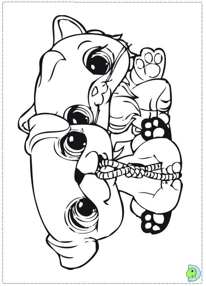 lps giraffe coloring pages - photo#17