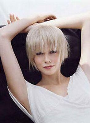 blond blanc gris - Coloration Blond Blanc