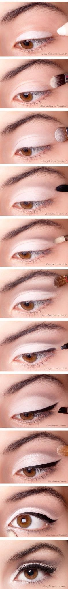 Classic makeup, in my opinion the perfect makeup to use for everyday makeup for back to school .
