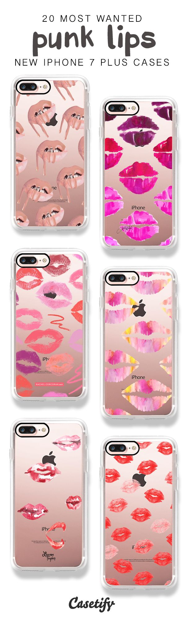 Lipstick moment! 20 Most Popular iPhone 7 / iPhone 7 Plus Phone Cases here > https://www.casetify.com/artworks/Cz9ypO6ALL
