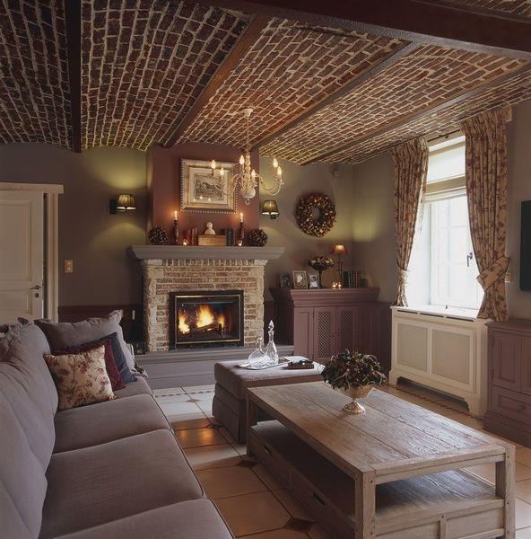 Engelse stijl interieur