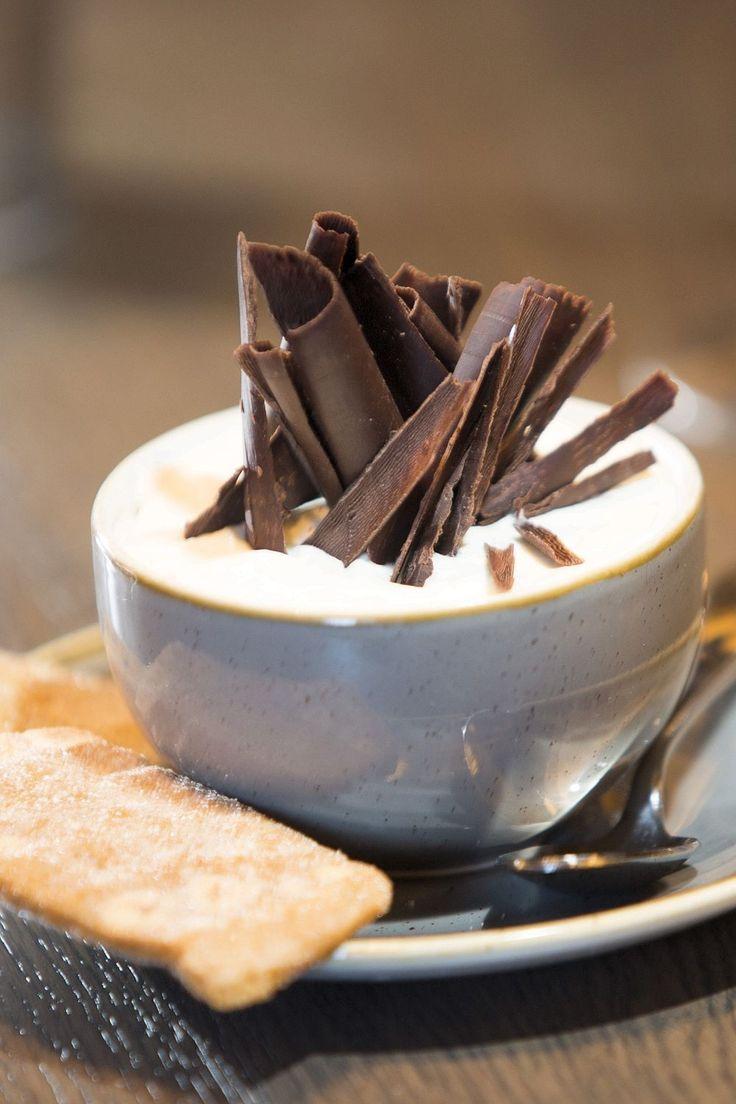 The stunning salted caramel dessert