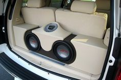 """speaker systems set up for cars   ... strengthen the """"higher pitched sound"""" generated from the speakers"""