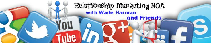 "First weekly show called ""Relationship Marketing"" HOA"