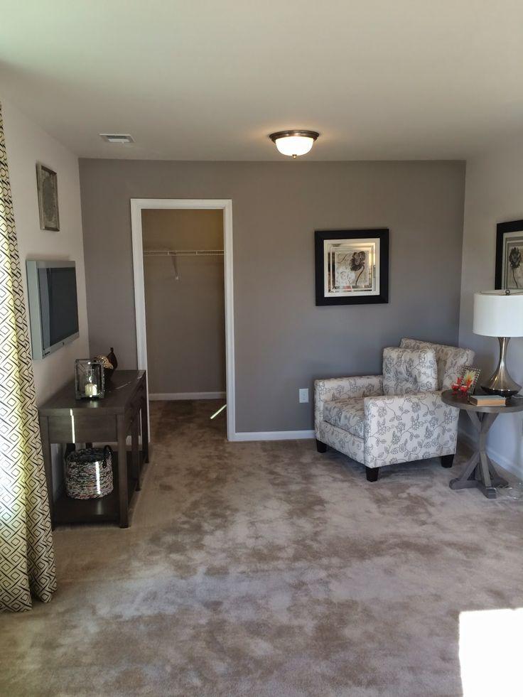 Ryan Homes Rome Master Bedroom Sitting Area