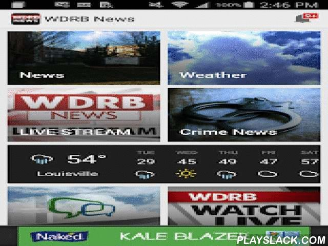 WDRB News  Android App - playslack.com ,  WDRB is the number one local news source in Louisville providing news from the strongest journalism team. We cover Louisville Weather, News, Kentucky and Indiana news, headlines, weather, traffic, and sports. Catch Louisville Cardinals news, the Kentucky Wildcats and much more.Our app offers weather radar, alerts, story submission and other features that makes it easy to get news on the go.