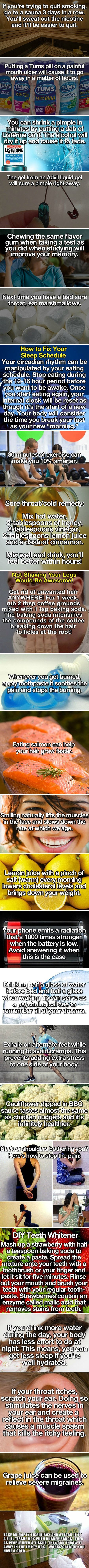 24 Life Hacks That Will Simplify Your Life [ Health]