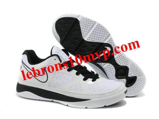 Nike Zoom Lebron 8(IIX) Low Shoes White/Black