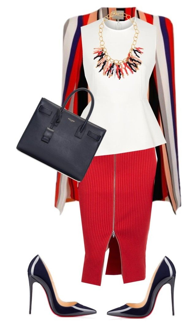 World Youth Day!!!! by cogic-fashion on Polyvore featuring polyvore мода style Alexander Wang Lavish Alice T By Alexander Wang Christian Louboutin Yves Saint Laurent Kara Ross women's clothing women's fashion women female woman misses juniors