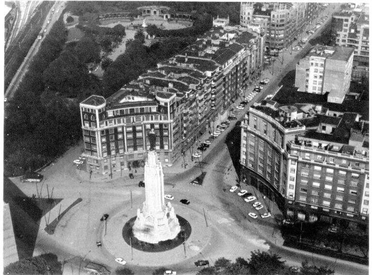Plaza del Sagrado Corazón, 1970