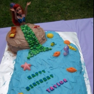 Ariel cake my husband made for our daughter's 3rd birthdayBirthday Parties, Food, Birthdays, Ariel Cake, 3Rd Birthday, Ariel Dolls, Birthday Cake, Kendall Birthday, Daughters 3Rd