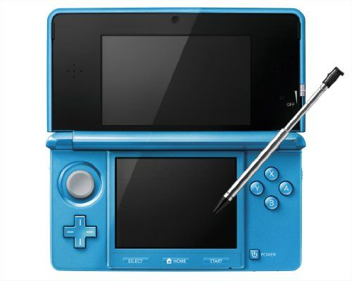 Nintendo 3DS Console-light blue (Japanese Imported Version - only plays Japanese version games) - http://www.rekomande.com/nintendo-3ds-console-light-blue-japanese-imported-version-only-plays-japanese-version-games/