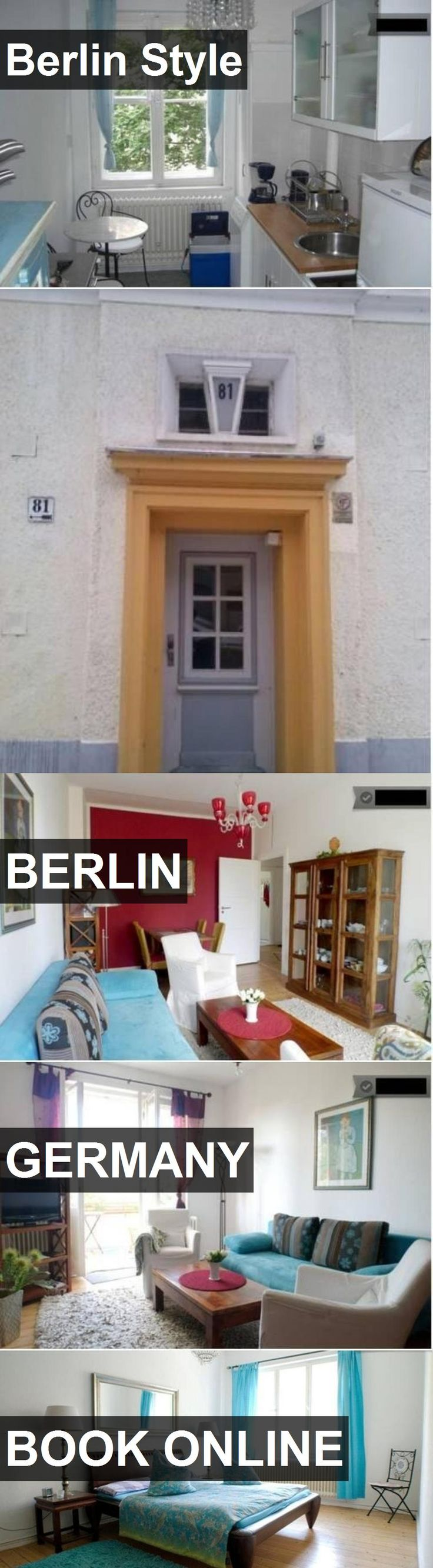 Hotel Berlin Style in Berlin, Germany. For more information, photos, reviews and best prices please follow the link. #Germany #Berlin #travel #vacation #hotel
