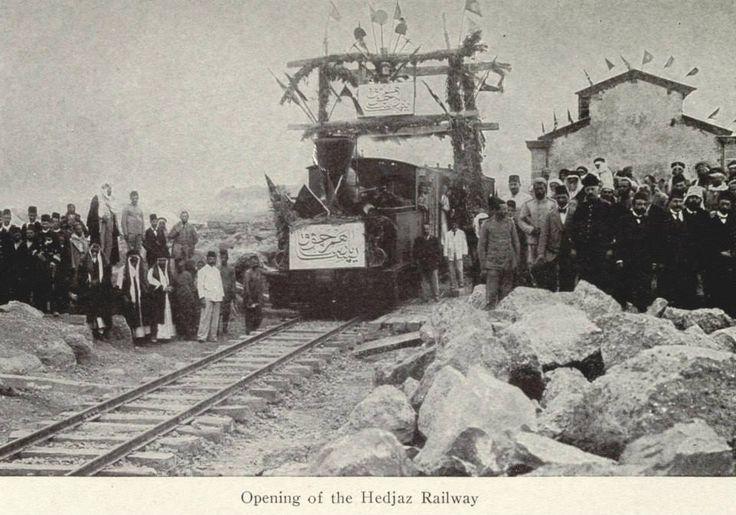 Opening of the Hejaz Railway  Hicaz demiryolunun açılışı