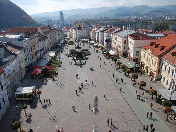 Banská Bystrica main sqaure