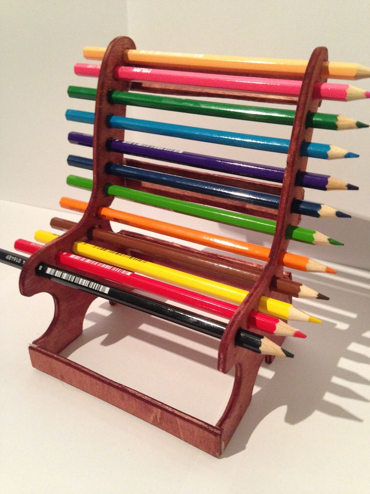 Support crayons