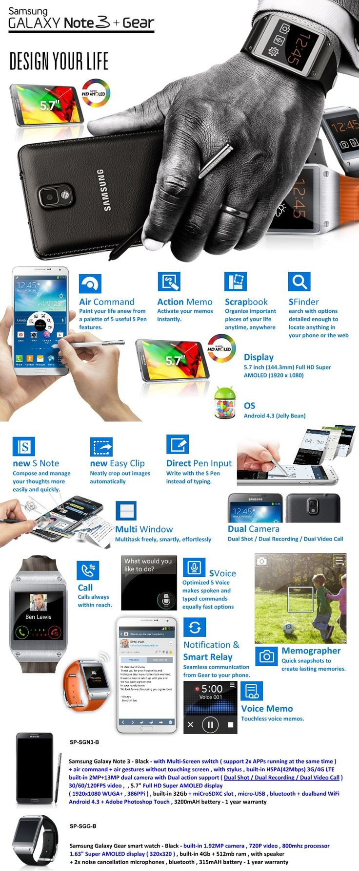 How to use scrapbook on galaxy note 3 - Samsung Note 3 Gear