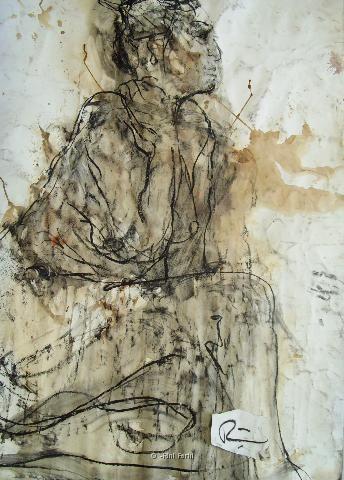 rester de marbre/  by  Rini Ferhi