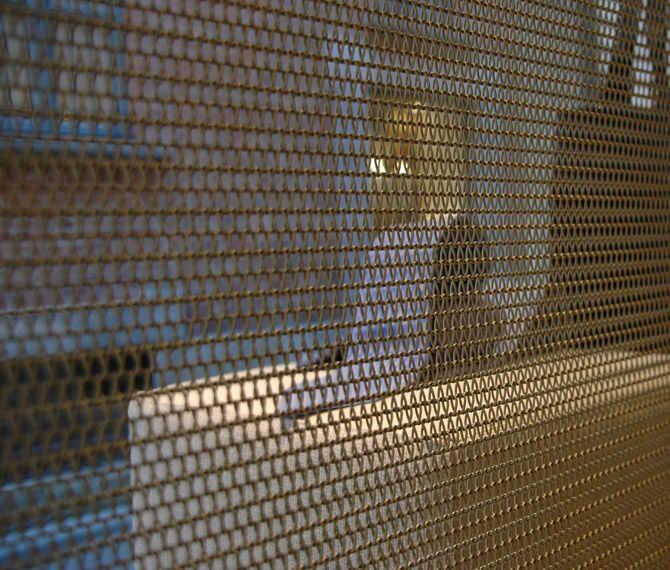 rideau en maille m tallique en acier inoxydable archi. Black Bedroom Furniture Sets. Home Design Ideas