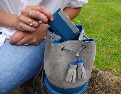 """Check out new work on my @Behance portfolio: """"LEATHER GOODS // MY LITTLE BAG""""…"""