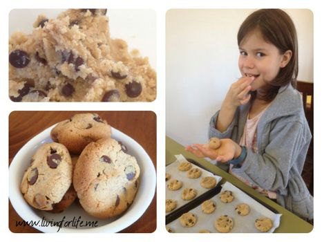 Chocolate chips galore - but no gluten, dairy or nuts!! Quick easy recipe.
