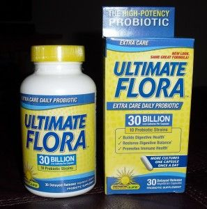 ReNew Life Ultimate Flora Probiotics Review and Giveaway (6/16)