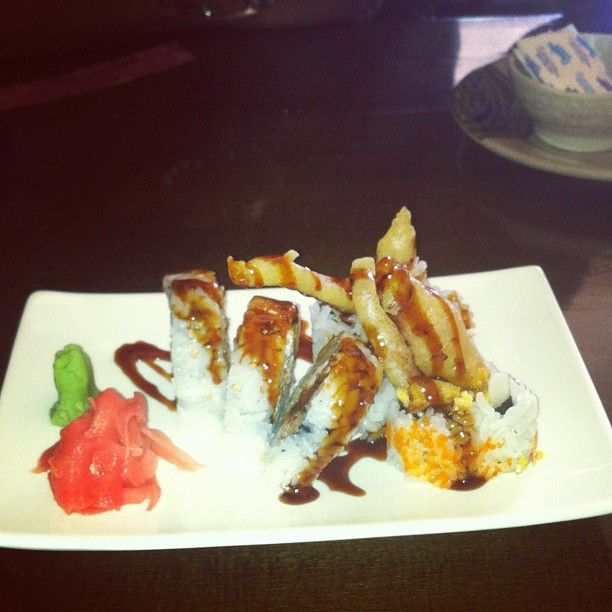 Spider roll #sushi