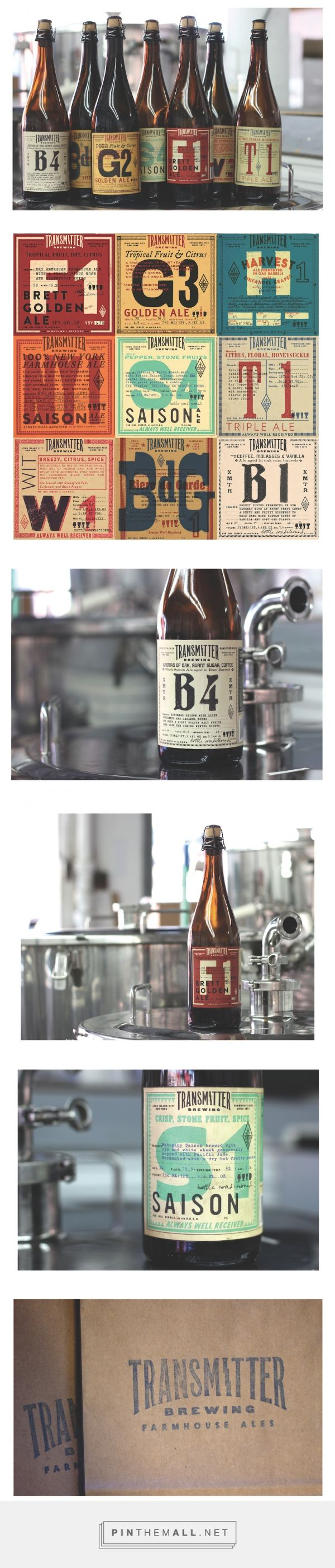 Transmitter: A Beer Packaging Design Inspired by Ham Radio - Print Magazine  http://www.printmag.com/design-inspiration/beer-packaging-design-ham-radio/
