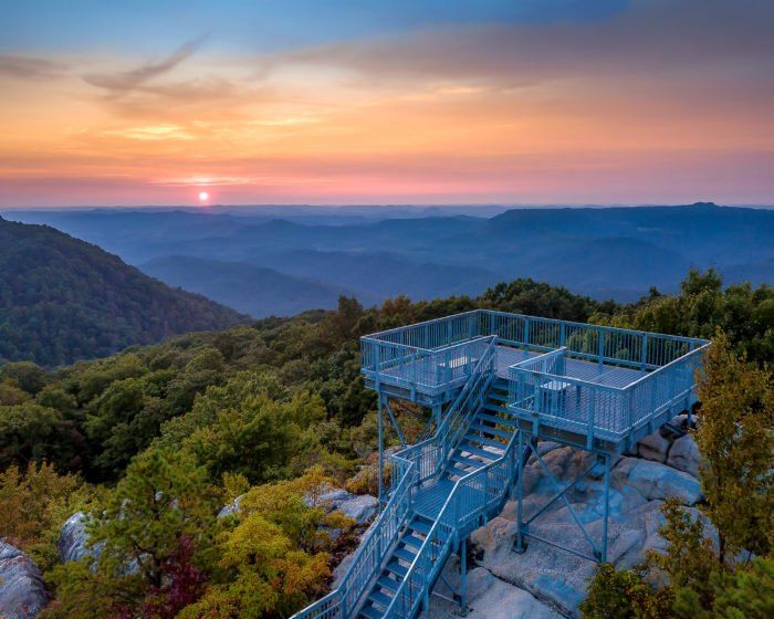 After Conquering 183 Steps You Ll Find Yourself At 3 144 Feet Above Sea Level And The Highest Point On Pine Mountain Fr Places To Go Travel Usa Pine Mountain