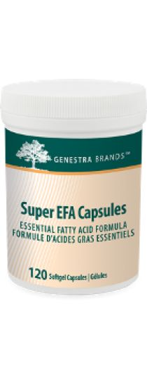 Super EFA Capsules by Genestra contains sardine and anchovy oils in a EPA:DHA ratio of 1.4:1 that supports cardiovascular health. Super EFA Capsules is naturally flavoured with sweet orange oil and does not have a fishy aftertaste. Source of omega-3 fatty acids, EPA and DHA for the maintenance of good health