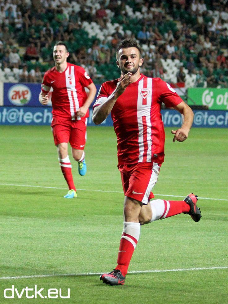 Senad Husić Gólöröme a Győri ETO - DVTK (1-1) mérkőzésen