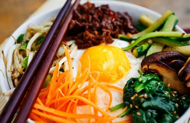 Aziatisch koken: het Koreaanse rijstgerecht bibimbap