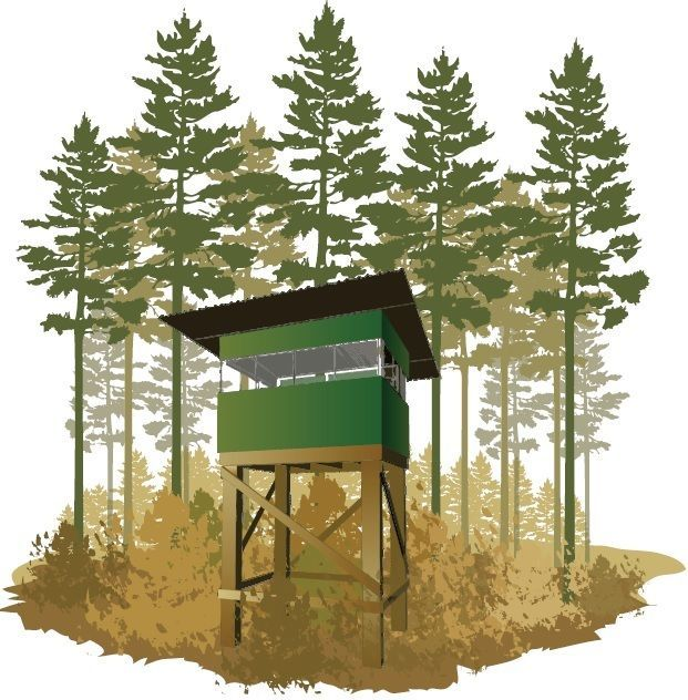 Deer Stand Box Blind Plans Portable Build Your own under $300 Easy Instructions  | eBay
