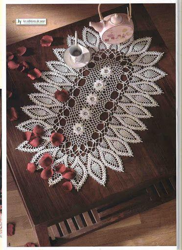 World crochet: Tablecloth 268