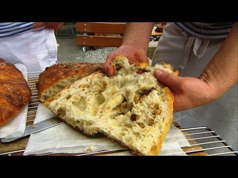 ▶ Hazelnut and Porcini Mushroom Bread - Hairy Bikers' BakeAtion - Norway - BBC Food - YouTube