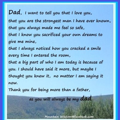 father's day 2013 message from daughter
