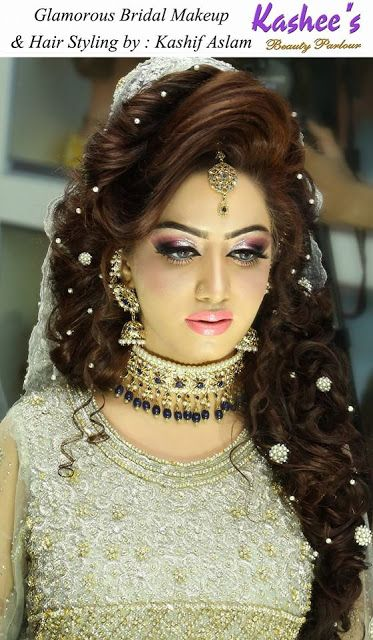 Fashion & Style: Best Bridal Hairstyles 2017 For Pakistani Women