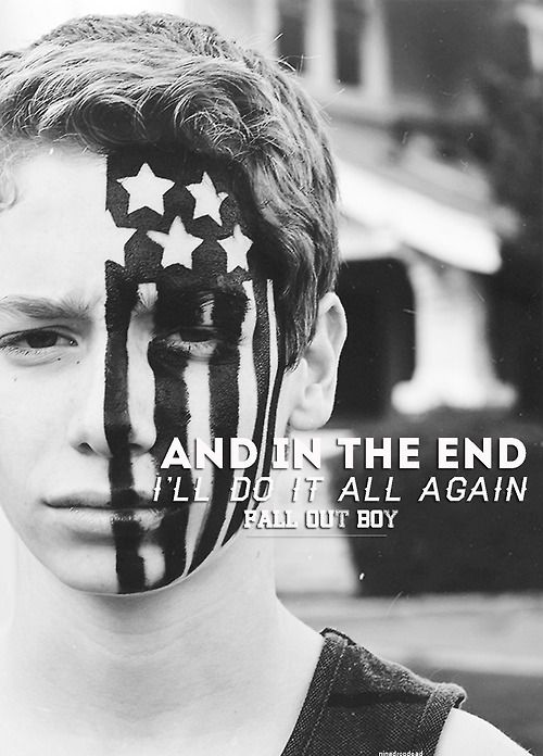fall out boy- the kids aren't alright lyrics (from their new album american beauty/american psycho)