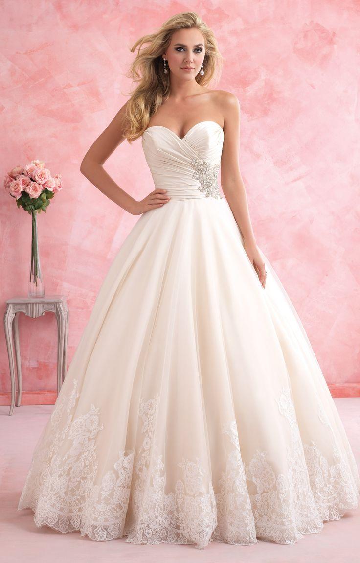 Mejores 734 imágenes de wedding dress plus size en Pinterest ...