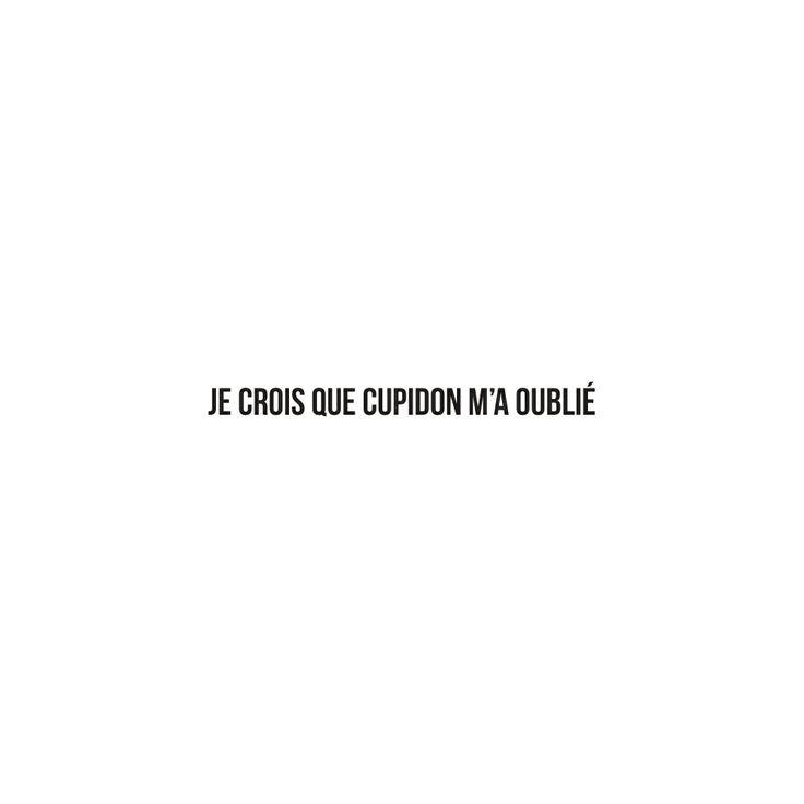 Je crois que #cupidon m'a oublié - #JaimeLaGrenadine