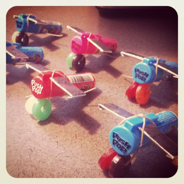 The birthday treat airplane fleet!