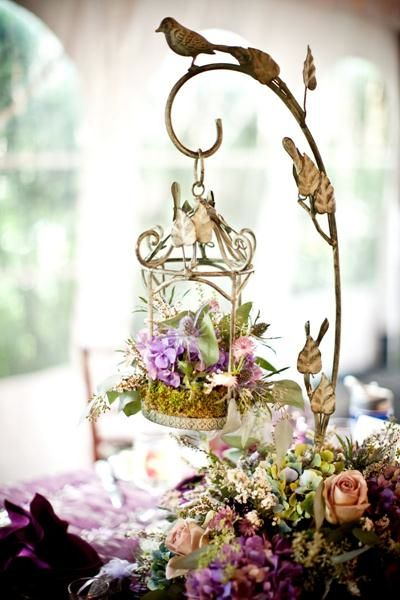This is so lovely all by itself. Imagine how gorgeous it would be in a little fairy garden!