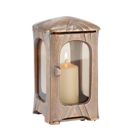 Edle Grab Leuchte »Rabea« mit schönem Dekor • Hochwertiger Bronzeguss & Handarbeit • Jetzt versandkostenfrei kaufen bei ▷ Serafinum.de