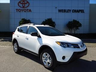 2013 Toyota RAV4 FWD 4dr LE - Toyota dealer serving Tampa Florida – New and Used Toyota dealership serving St Petersburg Clearwater Largo Florida
