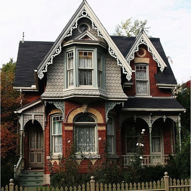 Victorian Homes Decor: 1635 Best Victorian Painted Ladies Images On Pinterest